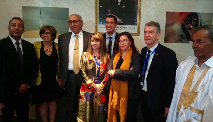 Le parti du pr  sident Macron s   installe au Sahara Marocain
