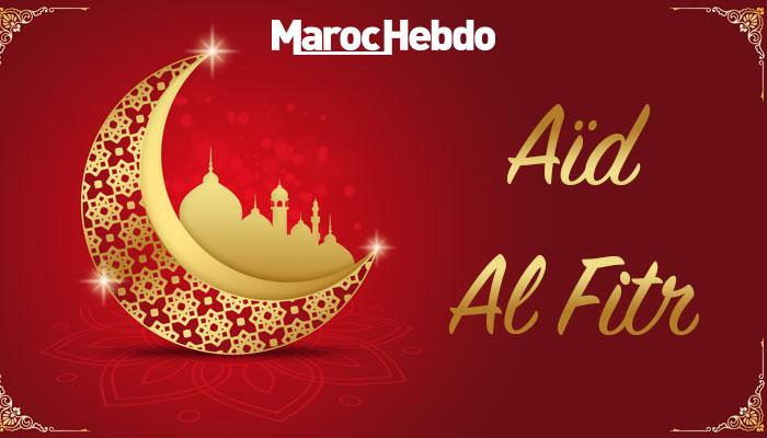 A  d Al Fitr c  l  br   jeudi au Maroc
