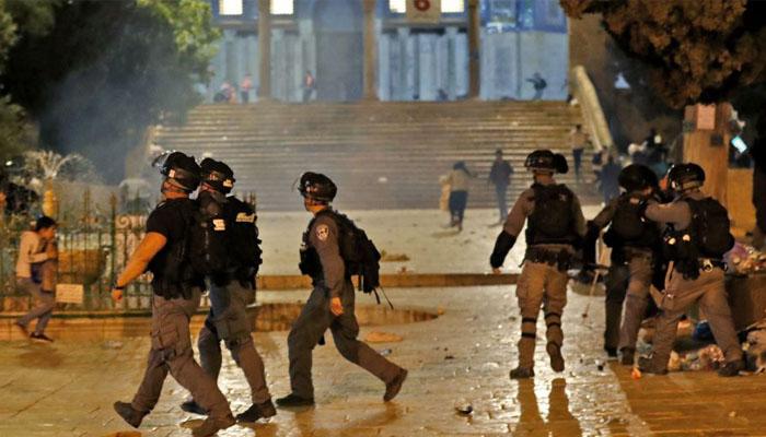 Le Maroc suit avec profonde inqui  tude les violents incidents    Al Qods Acharif et dans la mosqu  e Al-Aqsa