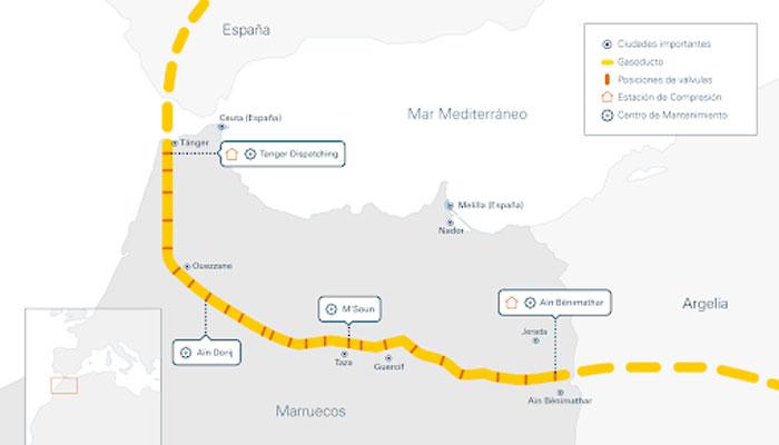 Maghreb-Europe: Le gazoduc non renouvelé ? - Maroc Hebdo l'actualité du  Maroc