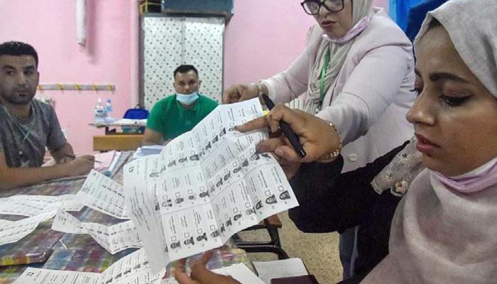 En Alg  rie le FLN  parti au pouvoir  remporte les   lections  sans surprise