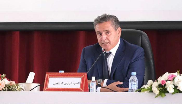 Aziz akhannouch  nouveau maire de la ville d   Agadir