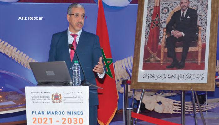 Une strat  gie pour moderniser le secteur minier marocain