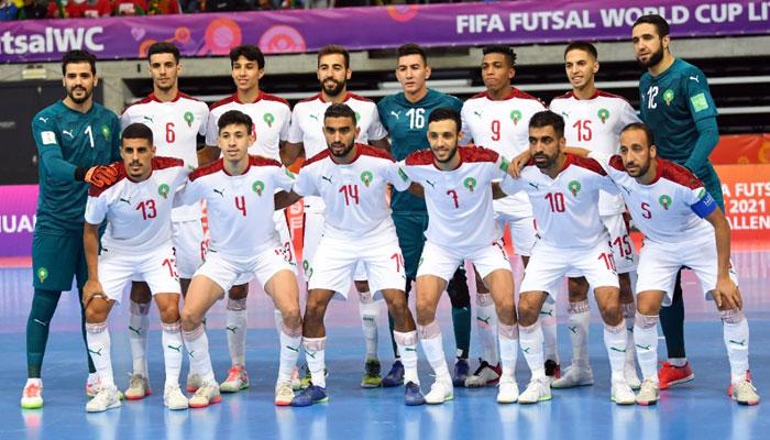 Mondial de futsal   Le Maroc   limin   en quart de finale par le Br  sil  0-1