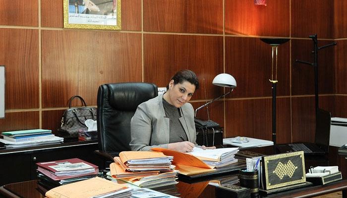 Fatima Zahra Mansouri   lue maire de Marrakech